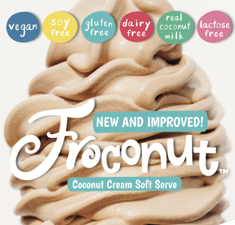 Foodservice: Froconut Soft Serve Ice Cream and Gelato